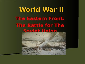 World War II - European Theater - Eastern Front - Battle o
