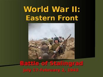 World War II - Eastern Front - Battle of Stalingrad