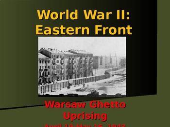 World War II - Eastern Front - Warsaw Ghetto Uprising
