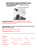 World War II: Essential  Questions, Key People/ Terms, Outline study guide