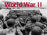 World War II Essential Questions