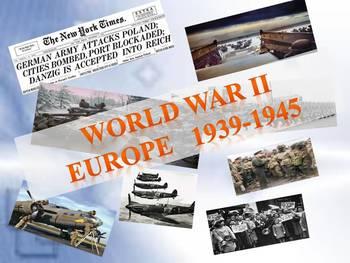 World War II Europe  1939-1945