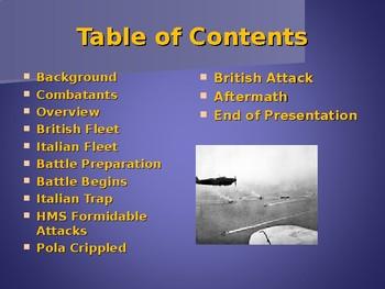 World War II - European Theater - Battle of Cape Matapan