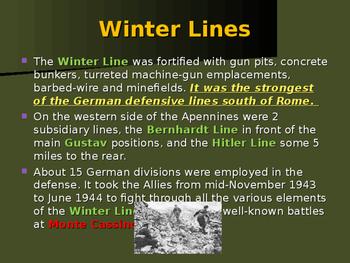 World War II - European Theater - Battle of Monte Cassino