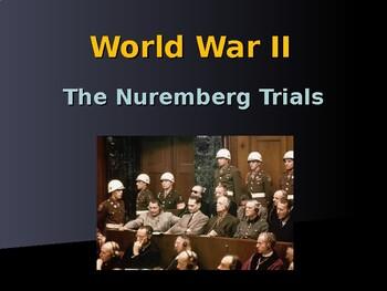 World War II - European Theater - Nuremburg Trials