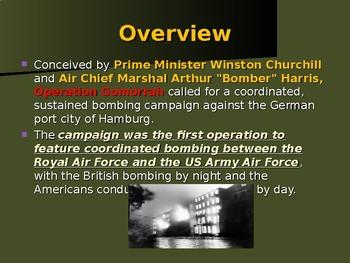 World War II - European Theater - Operation Gomorrah