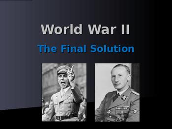 World War II - European Theater - The Final Solution