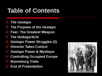 World War II - European Theater - The Gestapo