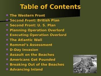 World War II - European Theater - The Western Front