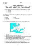 World War II Exam