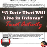 World War 2 | FDR's Speech | A Date That Will Live in Infamy |Tweet it! Analysis