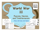 World War II: Fascism, Totalitarianism, Nazism