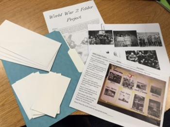 World War 2 File Folder Project