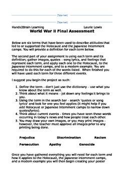 World War II:  Final Assessment