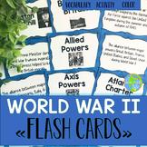 World War II Flash Cards