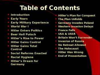 World War II - German Military Leaders - Adolph Hitler