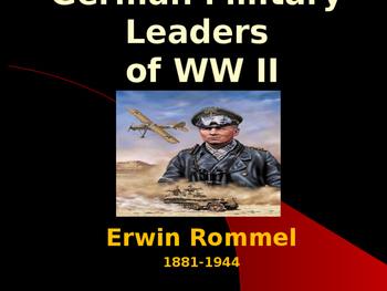 World War II - German Military Leaders - Erwin Rommel