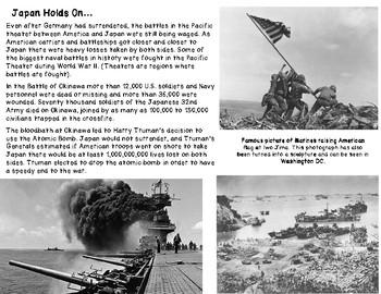 World War II: War's End, Germany Surrenders, Manhattan Project, Atomic Bombs