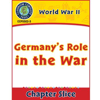 World War II: Germany's Role in the War Gr. 5-8