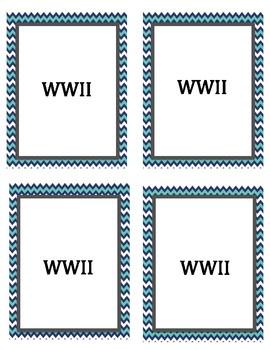 World War II Headbands Game