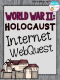 World War II Holocaust Internet Scavenger Hunt WebQuest Activity