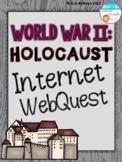 World War II Holocaust Internet Scavenger Hunt WebQuest Activity