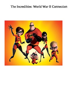 World War II & Holocaust Movie Connection: Incredibles