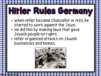 World War II: Holocaust PowerPoint and Notes Set (WWII, WW2)