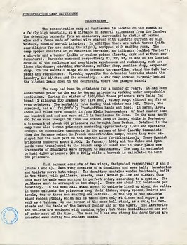 World War II: Holocaust Supreme Headquarters Allied Expeditionary Force (SHAEF)