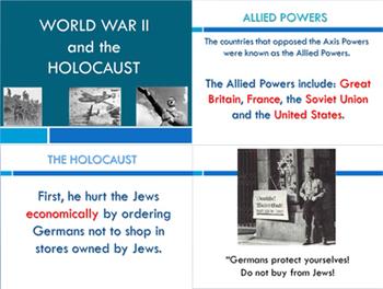 World War II (Holocaust and the Cold War) SS6H7