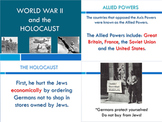 World War II (Holocaust and the Cold War) SS6H7