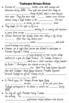 World War II Homefront Cloze Notes - 5th Grade