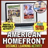 World War II | Homefront Gallery Walk | Distance Learning