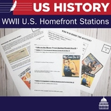 U.S. Homefront During World War II -5 Stations Lesson