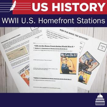 U.S. Homefront During World War II Stations | US History