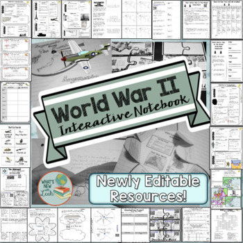 World War 2 Interactive Notebook Bundle