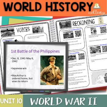 World War 2 Interactive Notebook Complete Unit Bundle