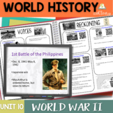 World War 2 Interactive Notebook Complete Unit Bundle