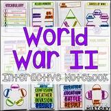 World War II Interactive Notebook & Graphic Organizers
