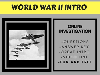 World War II Intro - FREE
