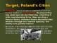 World War II - European Theater - Invasion of Poland