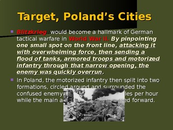 World War II - Eastern Front - Invasion of Poland