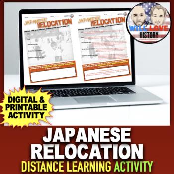 World War II: Japanese Internment Activity