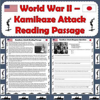 World War II - Kamikaze Attack Reading Passage