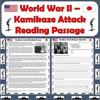 World War II - Kamikaze Attack Primary Source Reading Passage