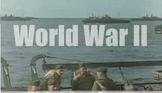 World War II Keynote Presentation with Included Videos