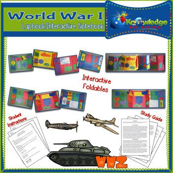 World War II Lapbook Package