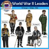World War II Leaders Clip Art (World War 2, Roosevelt, Chu