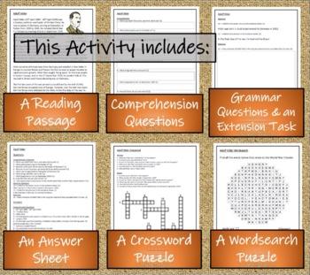 World War II Leaders Informational Text Activity Book