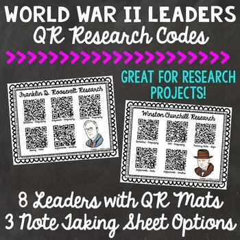 World War II Leaders QR Codes
